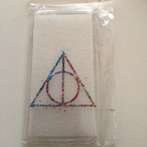 Harry Potter Rainbow Deathly Hallows iPhone 7 Case